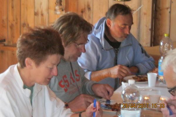 Arbdag 20170429 Isabella, Peter och Lars-Petter