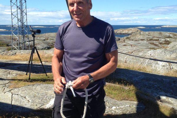 Torbjörn Karldén med fin knop